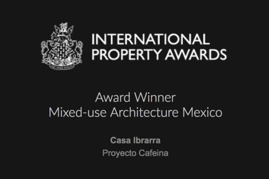 """""""Casa Ibarra"""" Award Winner: Mixed-use Architecture Mexico"""