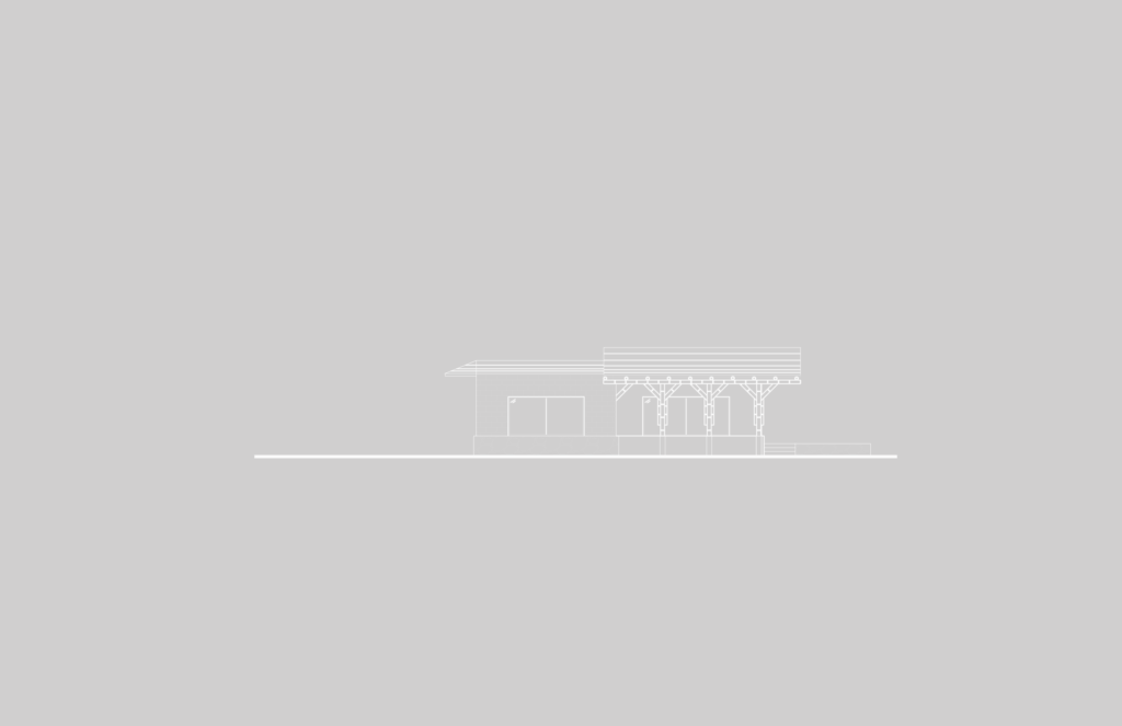 Montessori_blanco-Fachada Lateral Poniente E1-01