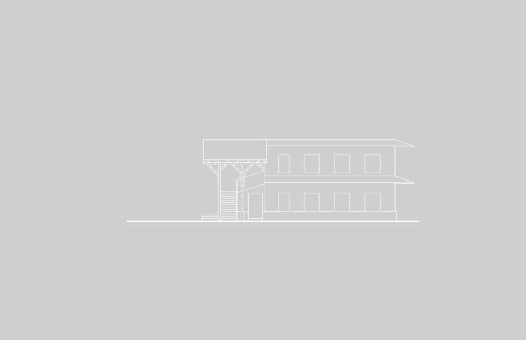 Montessori_blanco-Fachada Posterior E2-01